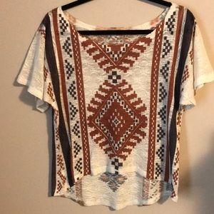 Navajo design T-shirt
